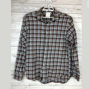 Billy Reid size xl plaid shirt